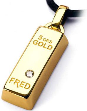 купить золотой кулон