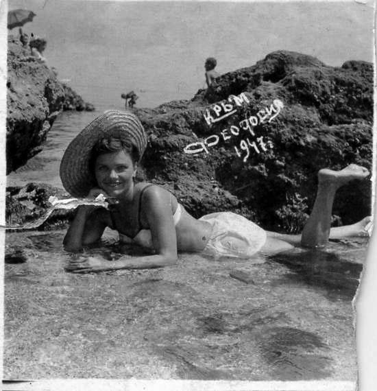 """Пляжи Украины фото, отдых в Феодосии - """"Золотой пляж"""""""