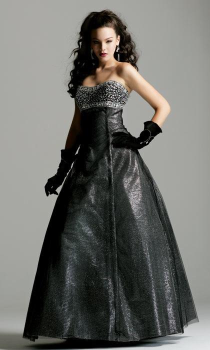 Черные платья на выпускной 2015: фото